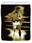 Muhammad Ali Boxing Artwork Painting By Sheraz A