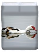Muscovy Water Reflection Duvet Cover