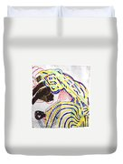 Nativity Of Jesus Duvet Cover by Gloria Ssali