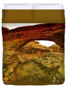 Natural Bridge Duvet Cover by Jeff Swan