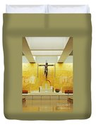 New And Modern Cathedral Of Fatima Duvet Cover