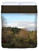 New England Autumn One Duvet Cover