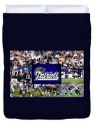 New England Patriots Duvet Cover