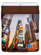 New York City - Times Square Duvet Cover