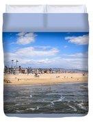 Newport Beach In Orange County California Duvet Cover
