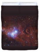 Ngc 2264, The Cone Nebula Region Duvet Cover