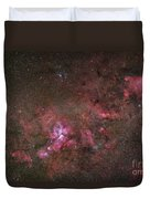 Ngc 3372, The Eta Carinae Nebula Duvet Cover by Robert Gendler