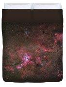 Ngc 3372, The Eta Carinae Nebula Duvet Cover