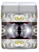 Nonstop Apple Blossom Abstract Duvet Cover