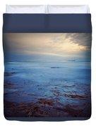 Northumberland Coast Duvet Cover