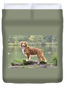Nova Scotia Duck Tolling Retriever Duvet Cover