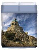 Observation Tower Mount Diablo State Park Duvet Cover