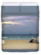 Ocean View 1 - Miami Beach - Florida Duvet Cover