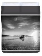Off Road Uyuni Salt Flat Tour Select Focus Duvet Cover