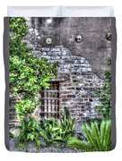 Old City Jail Window Duvet Cover