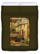 Old Mill In Arkansas Duvet Cover