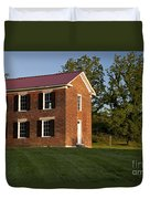Old Schoolhouse Duvet Cover by Brian Jannsen