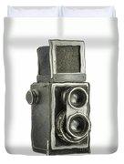 Old Still Camera Duvet Cover
