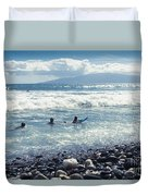 Olowalu Maui Hawaii Duvet Cover