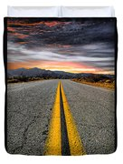 On Our Way  Duvet Cover by Ryan Weddle