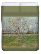 Orchard In Blossom Duvet Cover
