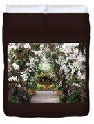 Orchid Display Duvet Cover