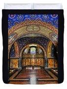 Orthodox Church Interior Duvet Cover