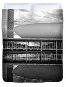 Oscar Niemeyer Architecture- Brazil Duvet Cover
