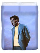 Otis Redding Painting Duvet Cover