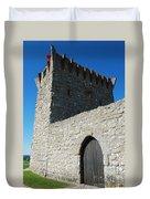 Ourem Castle Duvet Cover