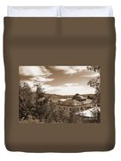 Pacific County Courthouse Timeless Series 8 Duvet Cover