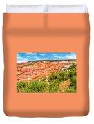Painted Desert National Park Panorama Duvet Cover