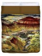 Painted Hills - Oregon Duvet Cover