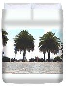 Palm Mirage Duvet Cover