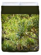 Pandanus Palm Tree Duvet Cover