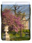 Paris Springtime Duvet Cover