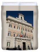 Parliament Building Rome Duvet Cover