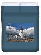 Pemaquid Point Lighthouse 4897 Duvet Cover