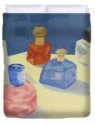 Perfume Bottles Duvet Cover