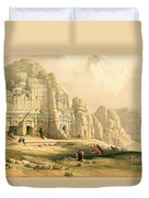 Petra Duvet Cover by David Roberts