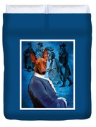 Pharaoh Hound Art Canvas Print Duvet Cover