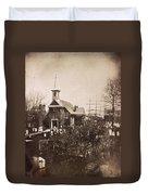 Philadelphia, C1855 Duvet Cover
