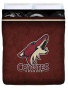 Phoenix Coyotes Duvet Cover