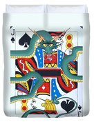 Pick A Card Any Card Duvet Cover