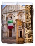 Pienza Tuscany Duvet Cover