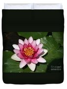 Pink Lotus Duvet Cover