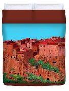 Pitigliano Village Duvet Cover