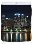 Pittsburgh Panorama Duvet Cover