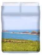 Pointe Du Grouin - Brittany Duvet Cover
