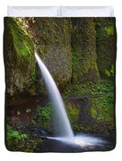 Ponytail Falls - Columbia River Gorge - Oregon Duvet Cover